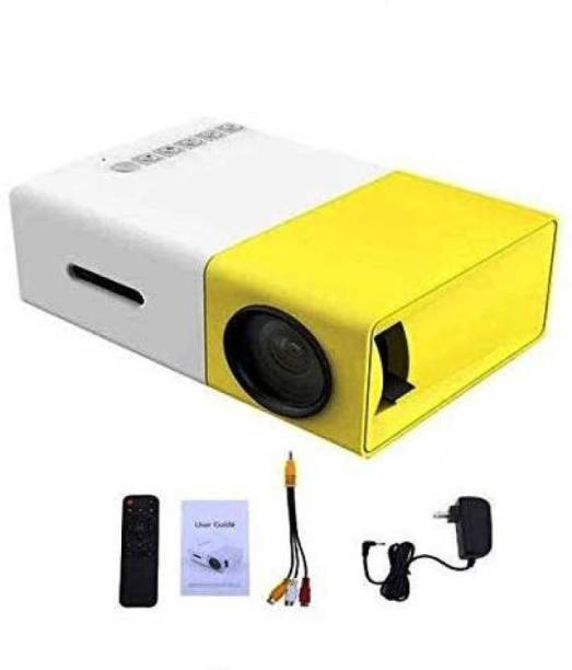 Odile Portable LED Projector Office. HD Theater Support USB HDMI Mini 1080p EU Plug 600 lm Portable Projector