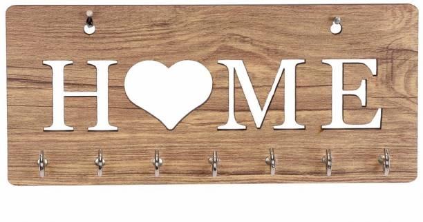 Sehaz Artworks Home-heart-WT-Wall_Shelves Wooden Wall Shelf