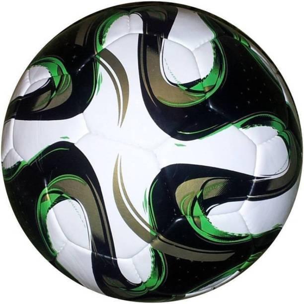 DIBACO SPORTS Golden Green Brazuca Football - Size: 5