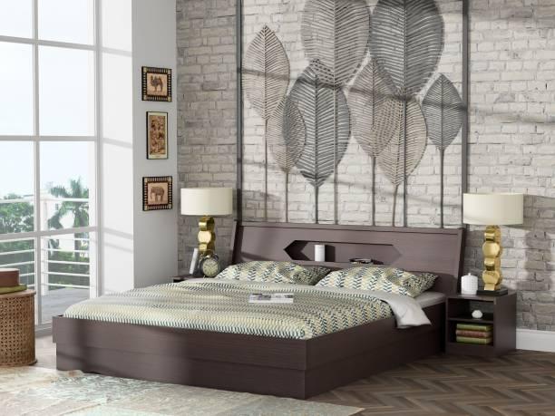 Zuari Cove Engineered Wood King Box Bed