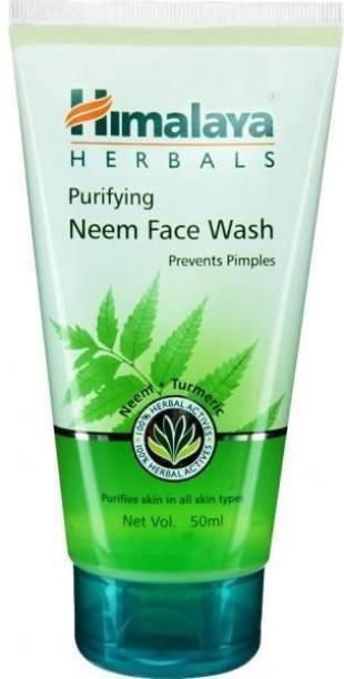 HIMALAYA HIMALA PURIFYING NEEM FACE WASH 50ML Face Wash