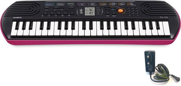 CASIO KM17b SA-78 & CBS30 Carry Case Digital Portable Keyboard