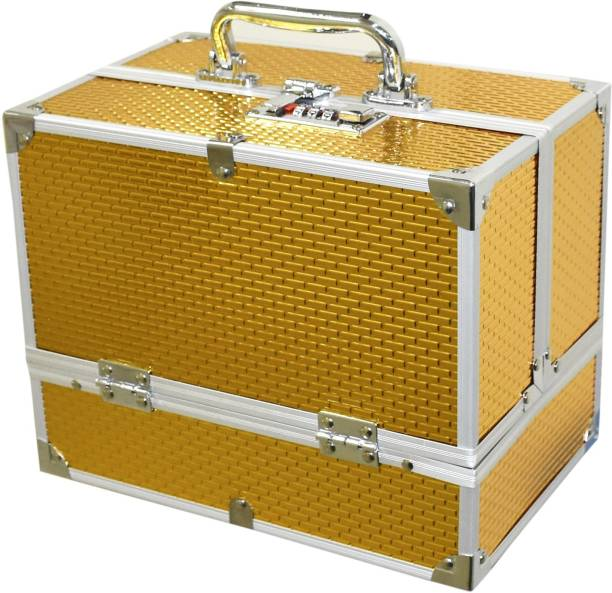 Pride STAR SP 20 golden to store cosmetic Vanity Box