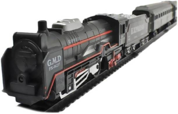 NV COLLECTION Kids High Speed Metro with Round Track Battery Operated Train