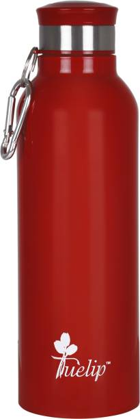 Tuelip Sports Stainless Steel Water Bottle For School Going Kids Girls & Boys,College,Gym,Sports Red 700 ml Water Bottle