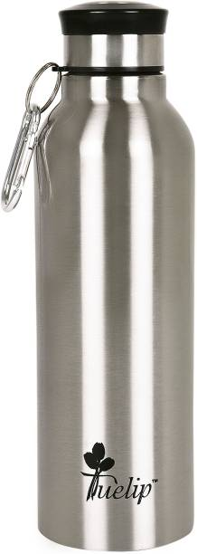 Tuelip Sports Stainless Steel Water Bottle For School Going Kids Girls & Boys,College,Gym,Sports Silver 700 ml