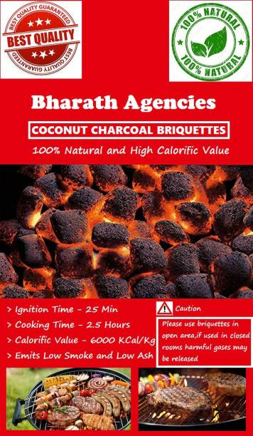 Bharath Agencies Coconut Barbeque Wood Chunks