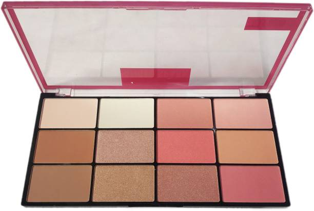 s.f.r color Cheek kit Angel Spark matte Frost Highlight/Blusher