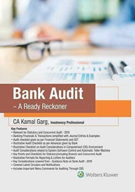CCH Bank Audit A Ready Reckoner By CA Kamal Garg Edition April 2019