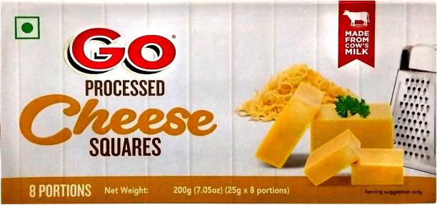 Go Processed cheese Cubes