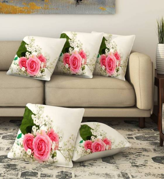 BLUEDOT Floral Cushions Cover