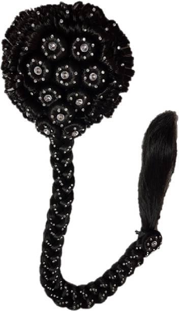 Gayatri Juda Designer Hair Juda Choti (Dark Brown) GBM1207-1BR Bun
