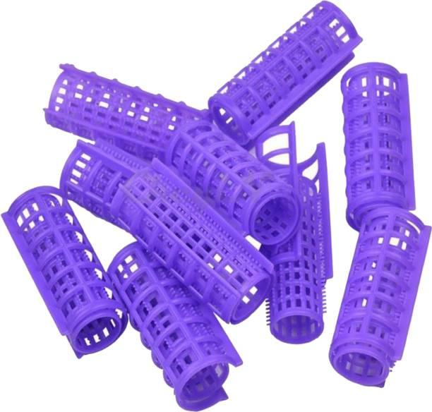 shivnath enterprises hair styling curler plastic hair roller[10pcs] Hair Curler