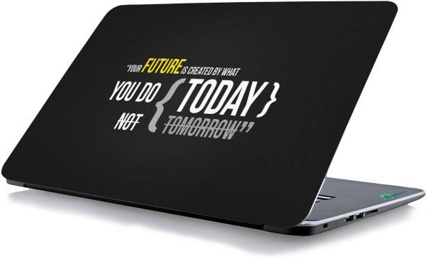 RADANYA Quotes Laptop Skin 75209 Vinyl Laptop Decal 15.6