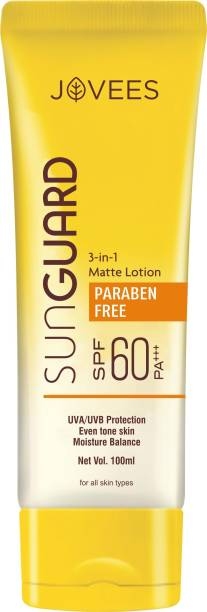 JOVEES Sun Guard Lotion - SPF 60 PA+++ - SPF 60 PA+++