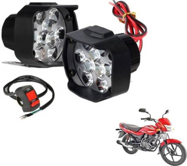 RK BEAUTY LED Fog Light For Bajaj Platina 100