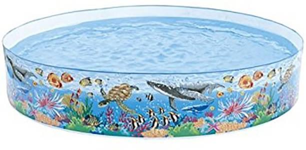 BE UNIQUE Intex Snapset Pool, Multi Color (8-feet) Drop-in Bathtub