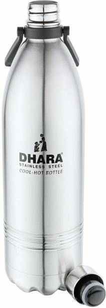 Dhara I'M STAINLESS STEEL 1500 ML BOTTLE CUM FLASK 24 HOUR HOT AND COLD 1500 ml Bottle