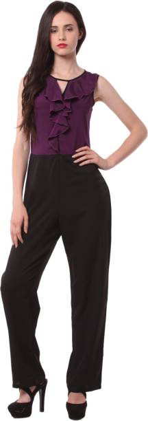3907abe6feb3 Eyelet Jumpsuit - Buy Eyelet Jumpsuit Online at Best Prices In India ...
