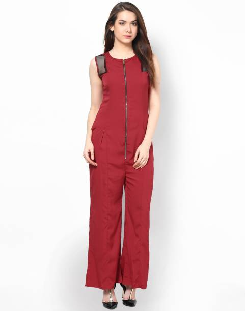 4cbebebb33a9 Red Jumpsuits - Buy Red Jumpsuits Online at Best Prices In India ...