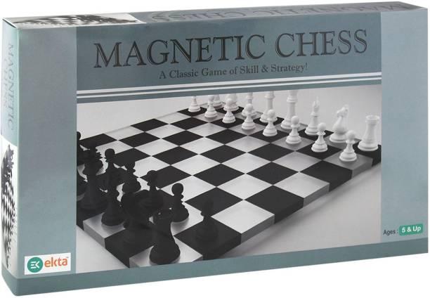Ekta Magnetic Chess Strategy & War Games Board Game