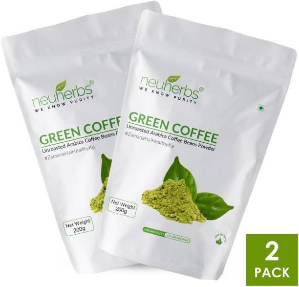 Neuherbs Green Coffee Beans Powder for Weight Loss Instant Coffee