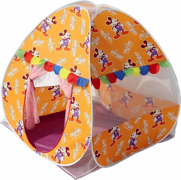 Homecute Foldable Popup Kids Play Tent House for 1 year to 12 years 110 x 110 x 120 cm