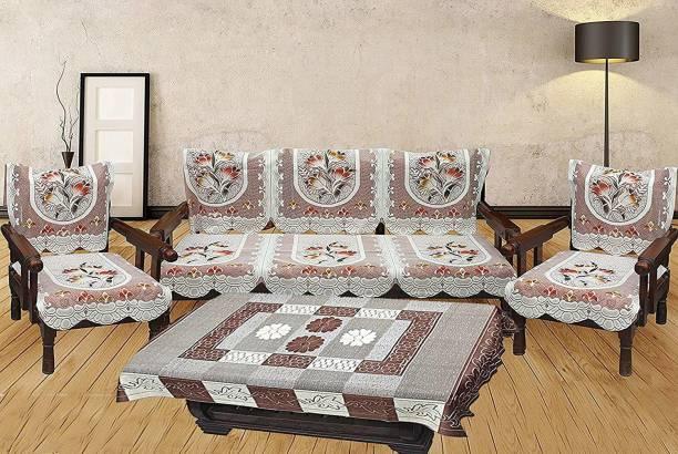 Aditya Home Decor Cotton Sofa Cover