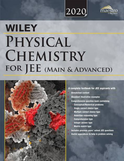 Wiley's Physical Chemistry for Jee (Main & Advanced)