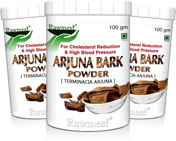 Rawmest 100% Natural Arjuna Powder (Terminalia arjuna ) Healthy Heart, NO Preservative added