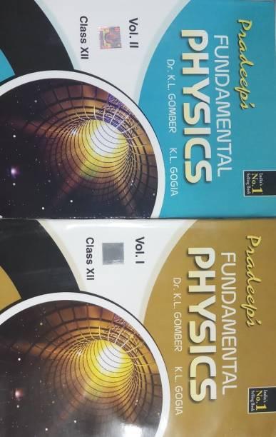 PRADEEP'S FUNDAMENTAL PHYSICS CLASS-XII (2 VOLUME SET)