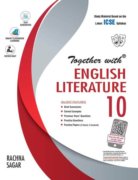 Together With ICSE English Literature Study Material for Class 10