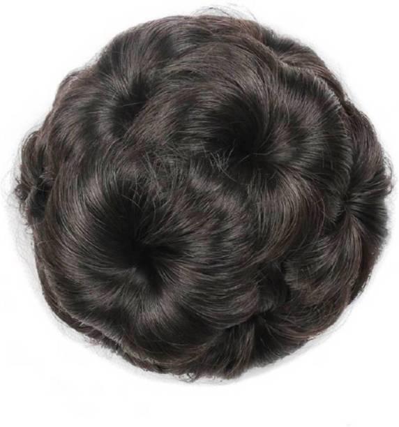 D-DIVINE Brown Clip Hair Bun