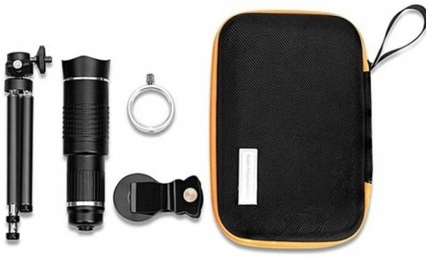 Gabbar 26X Telephoto Mobile Zoom Camera Lens With Tripod Mobile Phone Lens