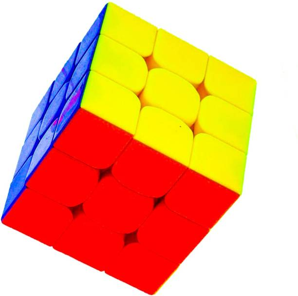 D ETERNAL cube 3x3 cube high speed stickerless magic brainstorming puzzle cube 3x3 game toy