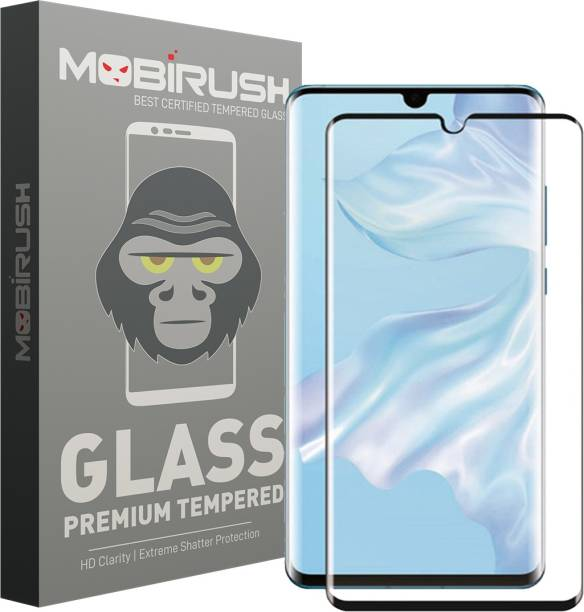 MOBIRUSH Edge To Edge Tempered Glass for Huawei P30 Pro
