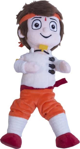 CHHOTA BHEEM Kung Fu Dhamaka Bheem Action Plush Toy  - 33 cm