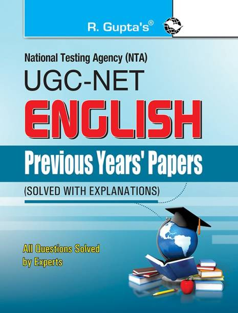 Nta-Ugc-Net - (English) Previous Years' Papers (Solved) 2022 Edition