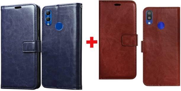 Spicesun Flip Cover for Mi Redmi Note 7 Pro, Mi Redmi Note 7, Mi Redmi Note 7S
