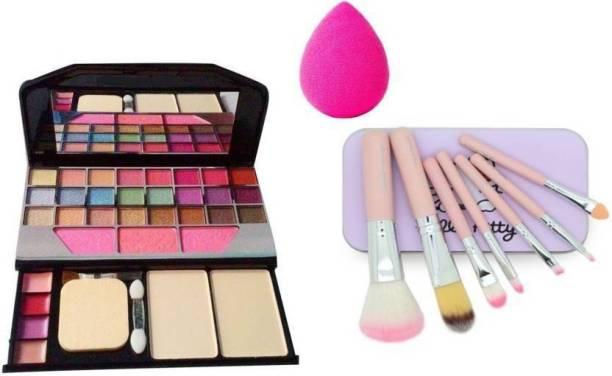 TYA 24 eyeshadow ,1sponge puff (combo kit)