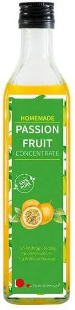 looms & weaves Homemade Passion Fruit concentrate - 500 ml