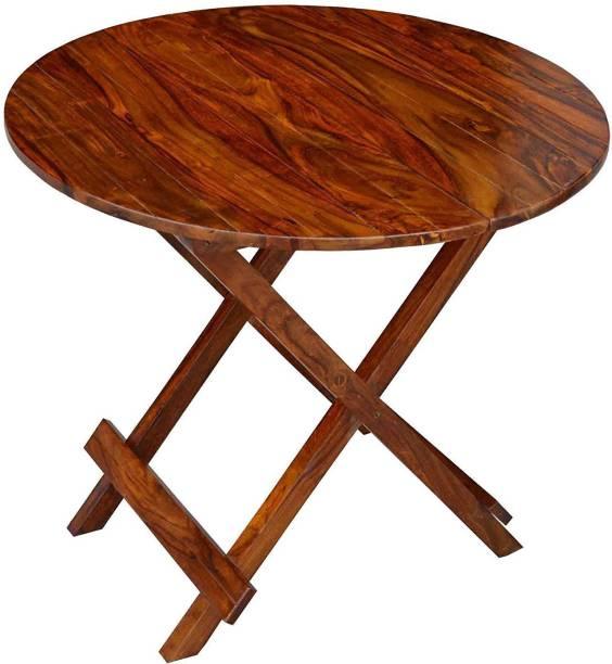Suncrown Furniture Sheesham Wood Solid Wood Outdoor Table