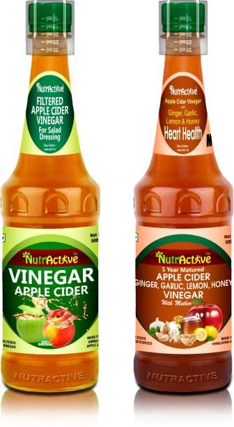 NutrActive Apple Cider Vinegar with Strand of Mothe Vinegar