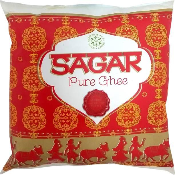 Sagar Pure Ghee 500 ml Pouch