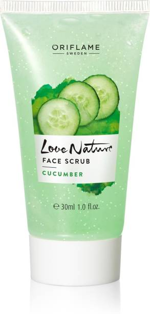Oriflame Sweden LOVE NATURE Face Scrub Cucumber Face Wash