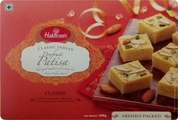 Haldiram's Classic Dryfruit Patisa Box
