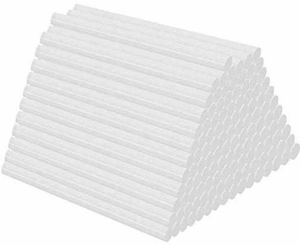 W Wadro 7mm(20 Watt Glue Guns Only) Transparent Sticks - Pack of 50 Adhesive