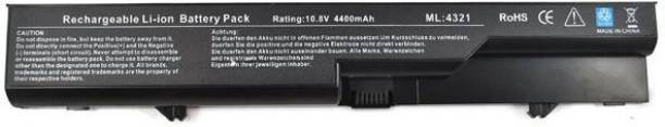 LAPCARE COMPATIBLE for HP ProBook 4320s 4321 4321s 4325s 4326s 4420s 4421s 4425s 4520s 4525 6 Cell Laptop Battery
