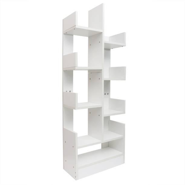 Kurtzy DIY book storage shelf rack organizer Engineered Wood Open Book Shelf