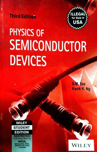 Physics of Semiconductor Devices 3rd  Edition